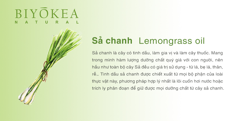 lemongrass sa chanh